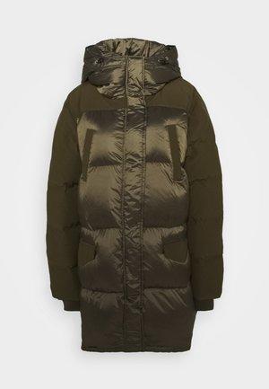 DOUDOUNE - Kabát zprachového peří - kaki