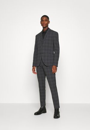 BOLD CHECK 3PCS SUIT - Oblek - dark blue