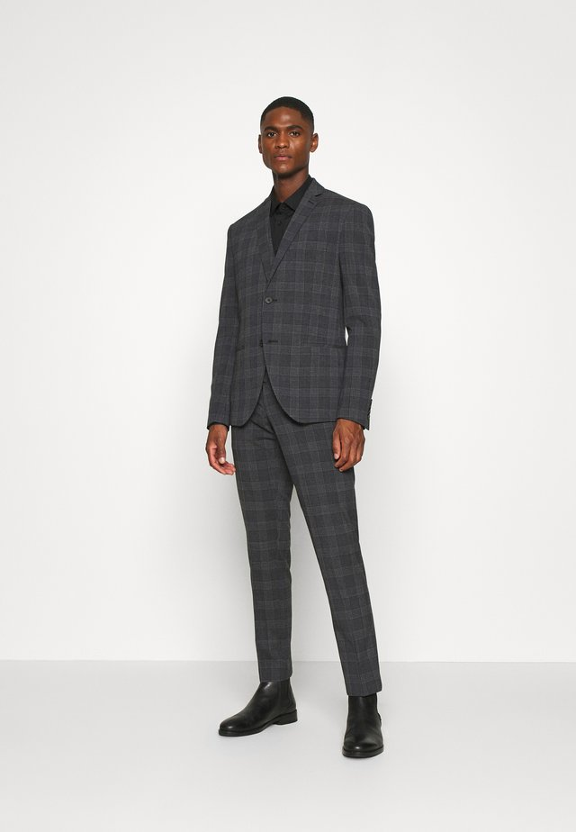 BOLD CHECK 3PCS SUIT - Kostuum - dark blue