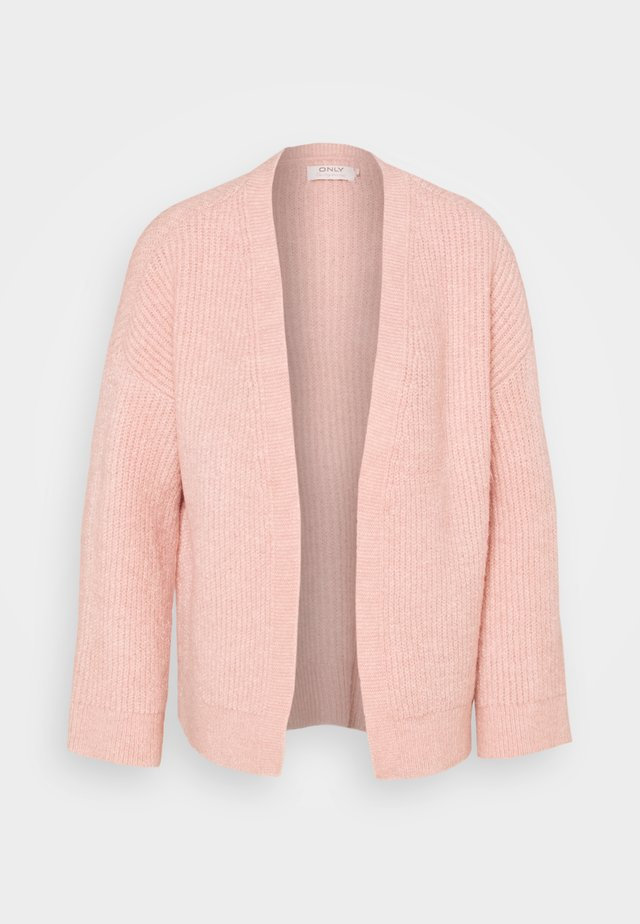 ONLPIMMIE OPEN CARDIGAN - Kardigan - misty rose