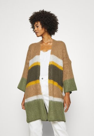 CARDIGAN - Cardigan - oil green