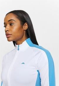 J.LINDEBERG - MARIE FULL ZIP MID LAYER - Sportovní bunda - white - 3
