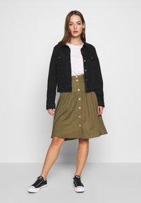 Object - OBJTHELMA SKIRT - A-Linien-Rock - burnt olive - 1