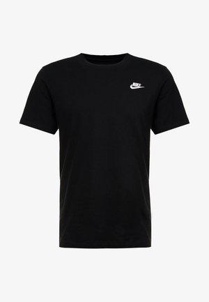 CLUB TEE - T-shirts - black/white