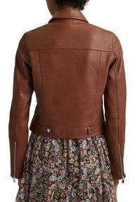 edc by Esprit - Leather jacket - caramel - 4