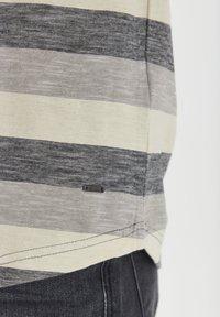 Solid - RUNDHALSSHIRT THICCO - Print T-shirt - black - 5