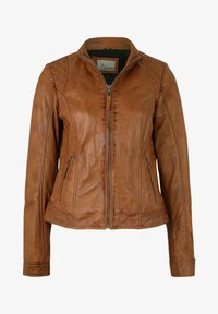 7eleven - Leather jacket - cognac - 3