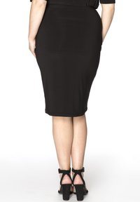 Yoek - Pencil skirt - black - 2