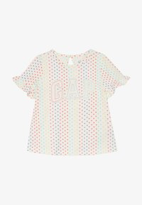 GAP - T-shirt print - ivory frost - 3