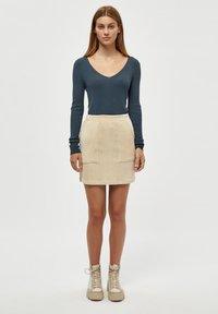 Desires - BRITT  - Mini skirt - oyster gray - 1