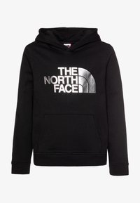 The North Face - DREW PEAK HOODIE UNISEX - Hoodie - black/silver - 0