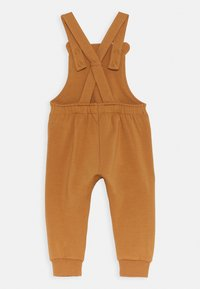 Lindex - TROUSERS BIB BEAR UNISEX - Dungarees - dusty brown - 1