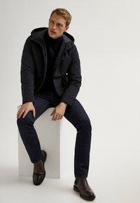 Massimo Dutti - Light jacket - blue-black denim - 3