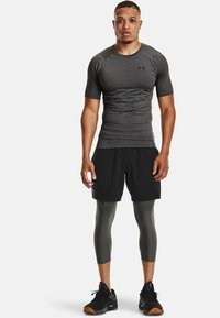 Under Armour - COMP - T-shirts print - carbon heather - 1