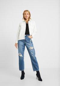 Miss Selfridge Petite - MOM - Straight leg jeans - blue - 1