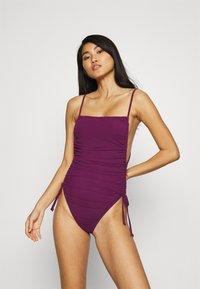 ANDREA IYAMAH - ADAN SWIMSUIT - Plavky - purple - 0