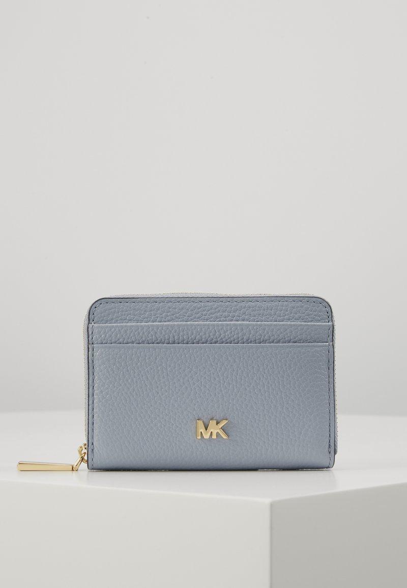 MICHAEL Michael Kors - MOTTZA COIN CARD CASE - Lommebok - pale blue
