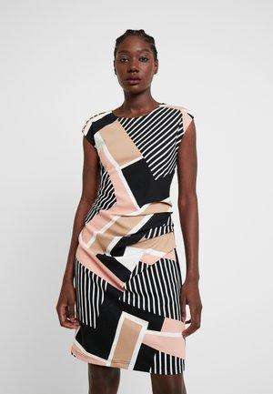 KAMINA INDIA DRESS - Vestido informal - peach/beige