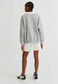 PULL&BEAR - OXFORD - Sweatshirt - grey - 2