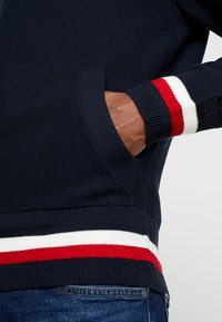 Tommy Hilfiger - STRUCTURED BRANDED ZIP HOODY - Cardigan - blue - 5
