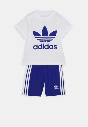 SET UNISEX - Shorts - white/royblu
