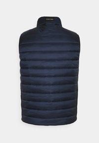 Calvin Klein - ESSENTIAL SIDE LOGO VEST - Waistcoat - navy - 1