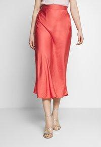 Bruuns Bazaar - BACA SKIRT - A-line skirt - poppy red - 0