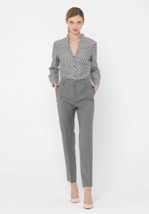 Spodnie materiałowe - szary