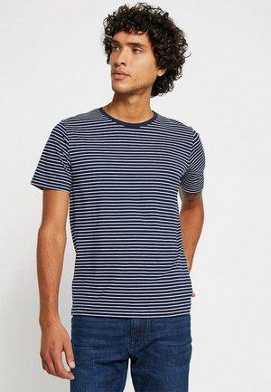 NEUNIRAY - Print T-shirt - navy blue