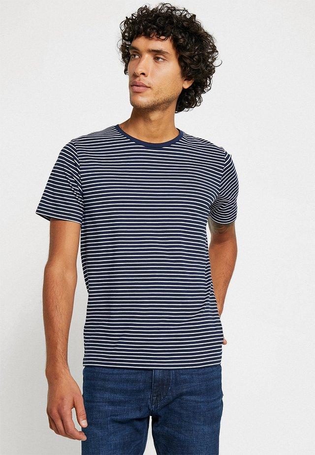 NEUNIRAY - T-shirt print - navy blue