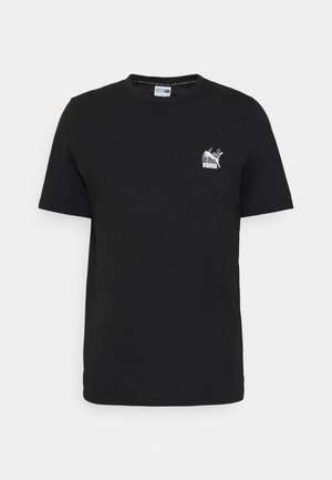 CLASSICS GRAPHICS INFILL TEE - T-shirt con stampa - black/white