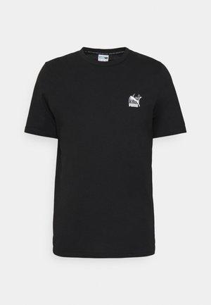 CLASSICS GRAPHICS INFILL TEE - Print T-shirt - black/white