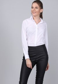 Basics and More - Button-down blouse - white - 3