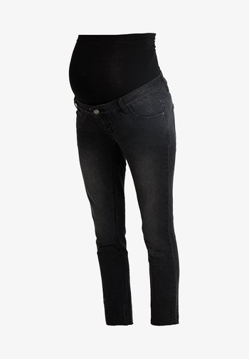 ANKLE GRAZER - Jeansy Skinny Fit - black washed