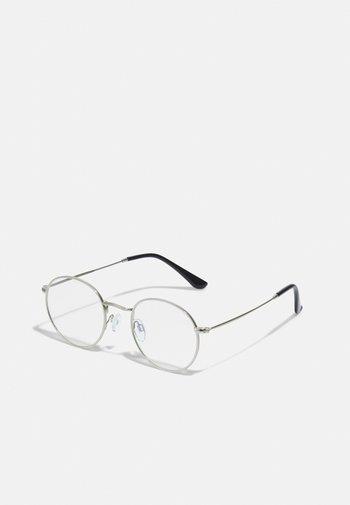 LIAM UNISEX - Sunglasses - silver-coloured