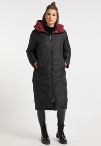 myMo ROCKS - Winter coat - rot schwarz - 3