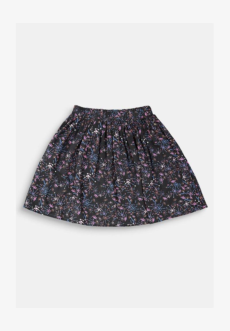 Esprit - Pleated skirt - black