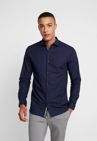 Jack & Jones PREMIUM - JPRVICTOR SLIM FIT - Shirt - navy blazer - 0