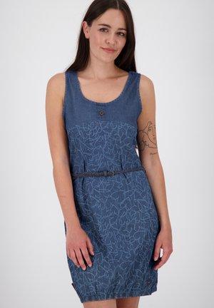 DOJAAK - Denim dress - dark blue denim