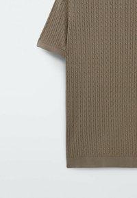 Massimo Dutti - Polo shirt - brown - 6