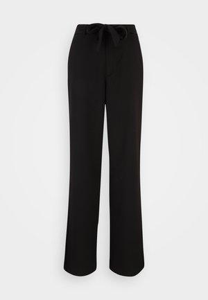 VMLONDYN PAPERBAG  PANT - Trousers - black