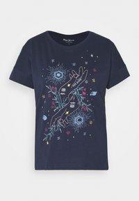 ALANIS - Print T-shirt - dark ocean