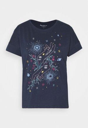 ALANIS - T-Shirt print - dark ocean