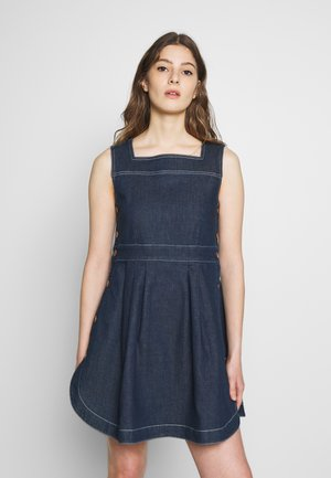 Denimové šaty - dark denim