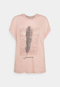 ONLY - ONLPIPER - T-shirts med print - misty rose - 0