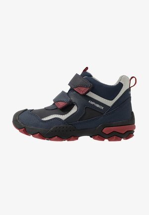 BULLER BOY  ABX - Talvisaappaat - navy/dark red
