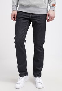 Volcom - SOLVER DENIM PANT - Straight leg jeans - rinse - 0