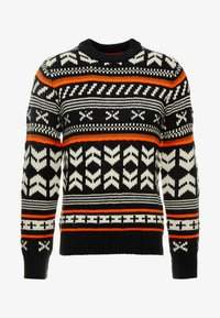 Jack & Jones - JORWINTER CREW NECK - Jumper - tap shoe - 3