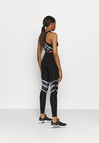 ONLY Play - ONPMIKO CIR - Leggings - black/white - 2
