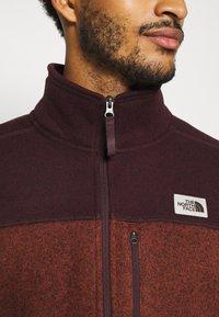 The North Face - GORDON LYONS FULL ZIP - Fleece jacket - brown - 5
